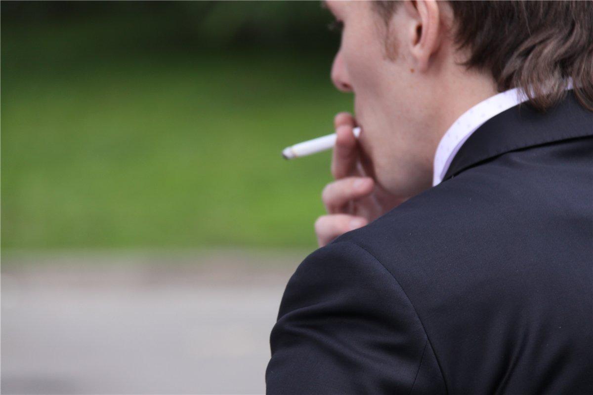 Курение равным образом потенция