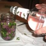Настойка любистка на водке